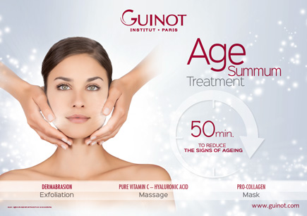 Guinot Age Summum brand new anti-aging treatment