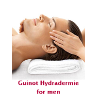 Guinot Hydradermie painless facialtreatment for men